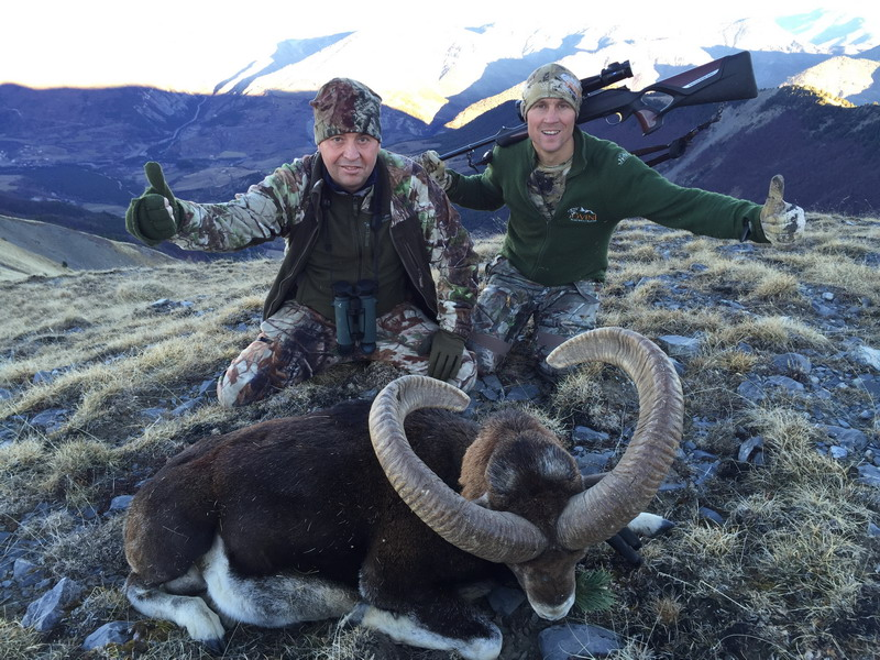 chasse gibier montagne france ovini expeditions pascal poyart