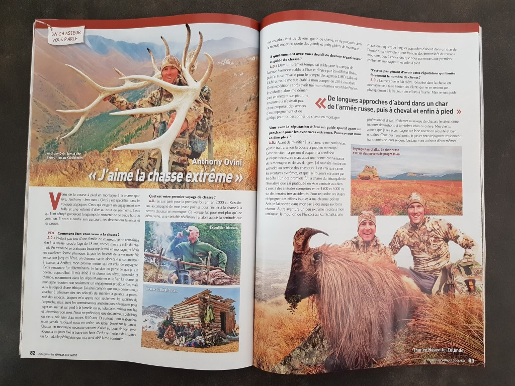 ovini expeditions article voyages de chasse mai 2018